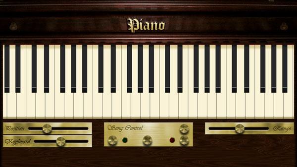 Metro-приложение Piano