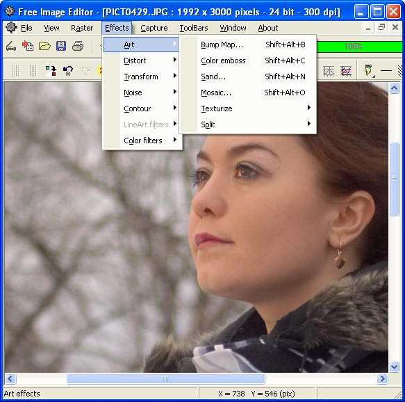 All effects PhotoFunia Free pic editor online with - oukas info