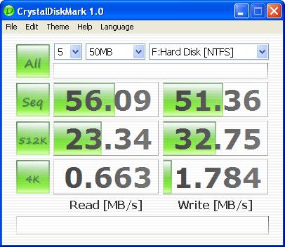 программа для проверки скорости жесткого диска - фото 3