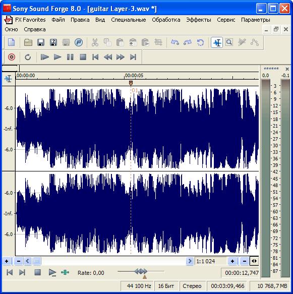 знакомство с программой sound forge pro 10 скачать