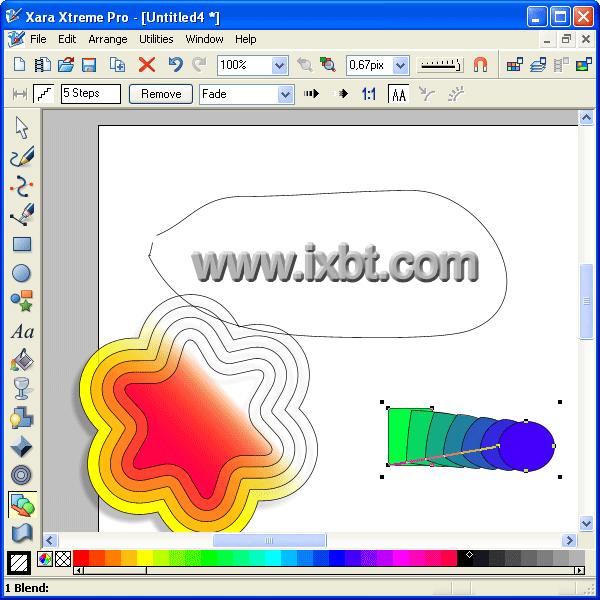 Xara xtreme pro графического редактора для