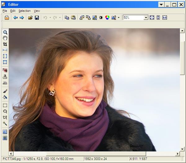 Работа с цифровыми фотографиями в zoner