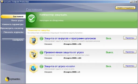 symantec live update port number
