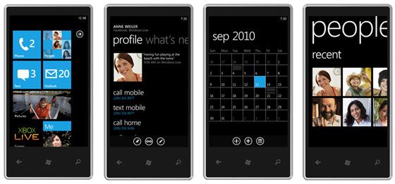 встроены в Windows Phone 7