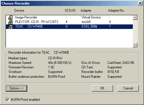 TEAC CD-532E-B USB Device Drivers List