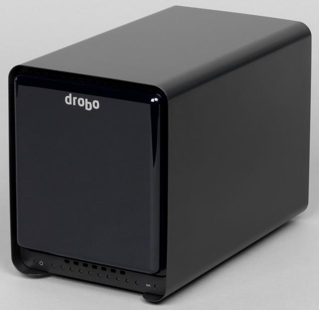 Внешний вид накопителя Drobo 5N