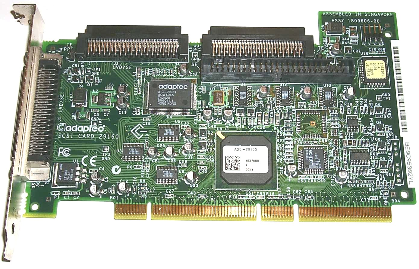 Download Driver: Adaptec 64-Bit/66MHz Wide Ultra3 SCSI Adapter