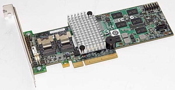 LSI MegaRAID SAS 9260-8i — недорогой 8-портовый SAS-контроллер