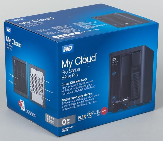 Упаковка сетевого накопителя WD My Cloud PR2100