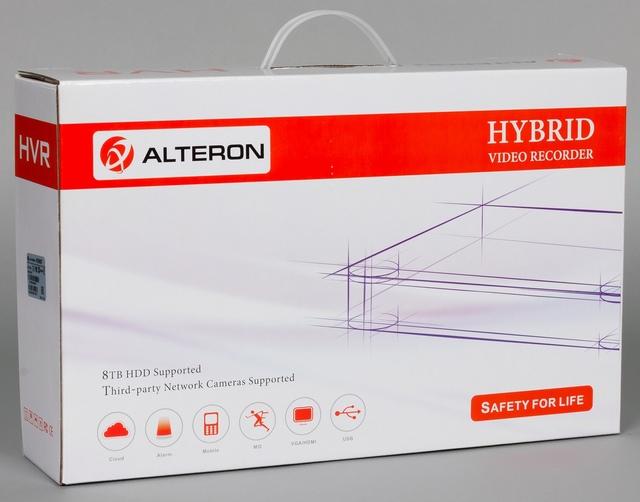 Упаковка видеорегистратора Alteron KRN087