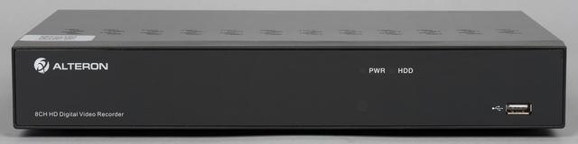 Внешний вид видеорегистратора Alteron KRN087