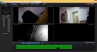 Работа с видеорегистратором в веб-браузере