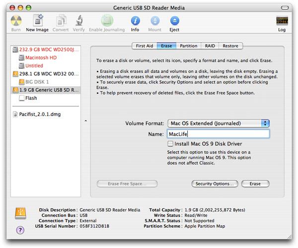 Disk utility mac os x скачать - фото 9