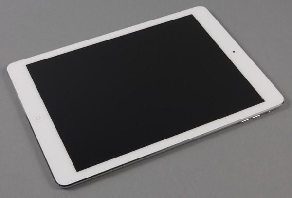 Фронтальная сторона iPad Air