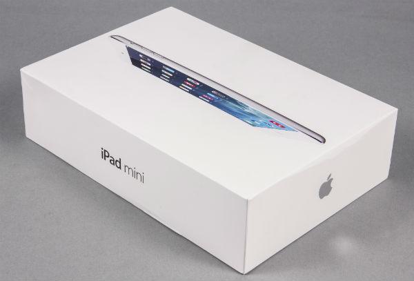 Коробка iPad mini сдисплеем Retina