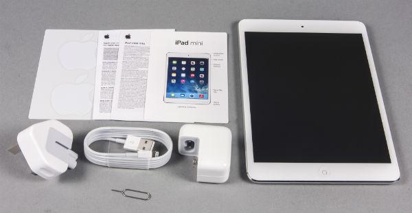 Комплектация iPad mini сдисплеем Retina