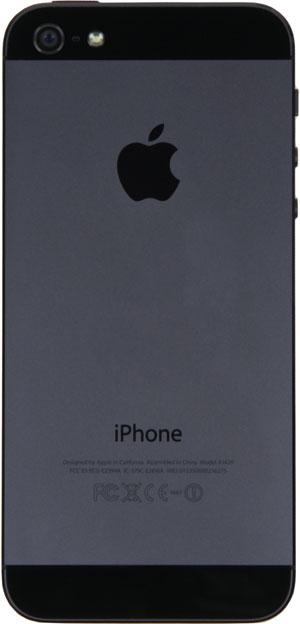 Тыловая сторона iPhone 5