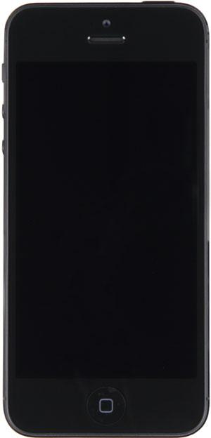 Фронтальная сторона iPhone 5
