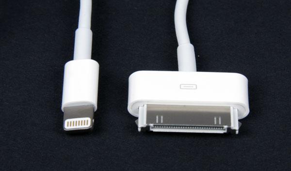 Кабели iPhone 5 и iPhone 4S