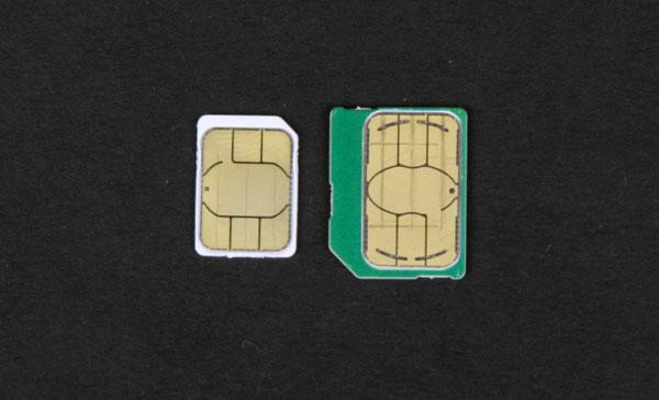 nano-SIM и micro-SIM