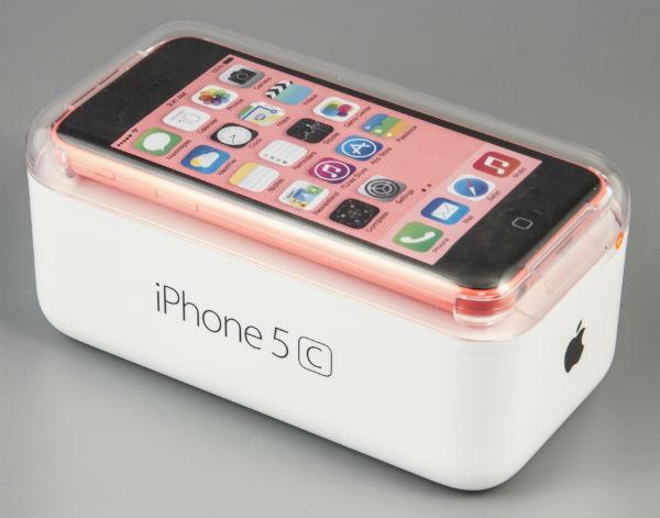 Коробка iPhone 5c