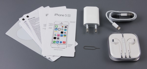 Комплектация iPhone 5s