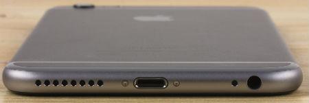 Нижняя грань iPhone 5c