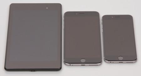 Обзор смартфона iPhone 6. Тестирование дисплея