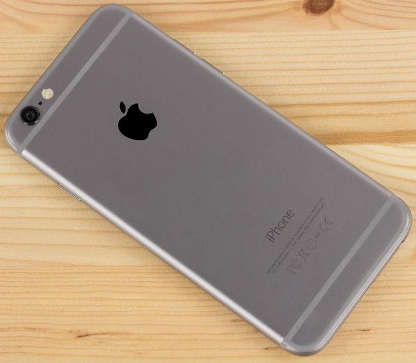 Тыловая сторона iPhone 5c