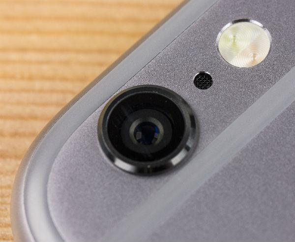 Левая грань iPhone 5c