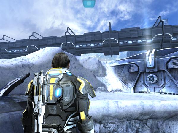 Скриншот игры Mass Effect: Infiltrator на The New iPad