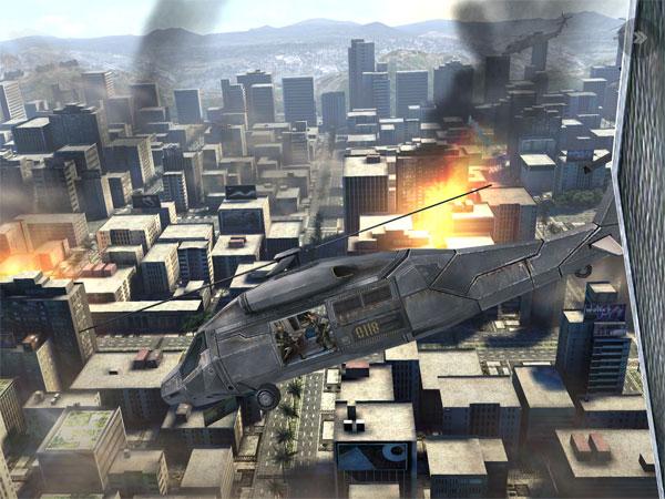 Скриншот игры Modern Combat 3 на The New iPad