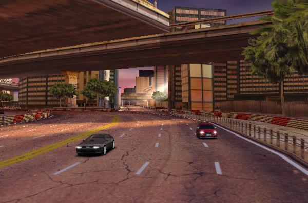 Скриншот игры Asphalt 6 на iPad 2