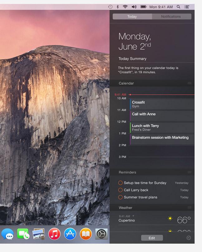 Os X Yosemite Wwdc2014 Apple Announces Ios 8 Os X: Apple WWDC 2014: OS X Yosemite, IOS 8 и новый язык