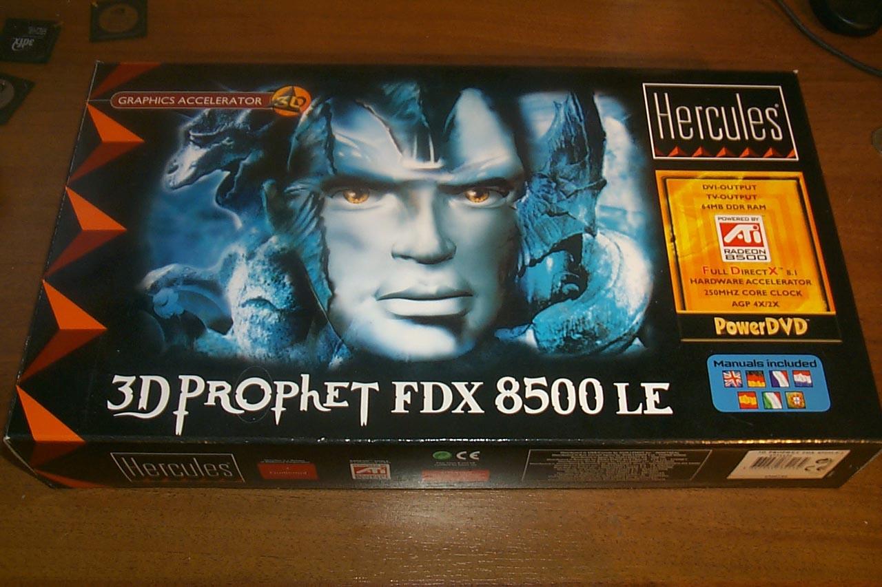HERCULES 3D PROPHET FDX 8500 LE DRIVER WINDOWS