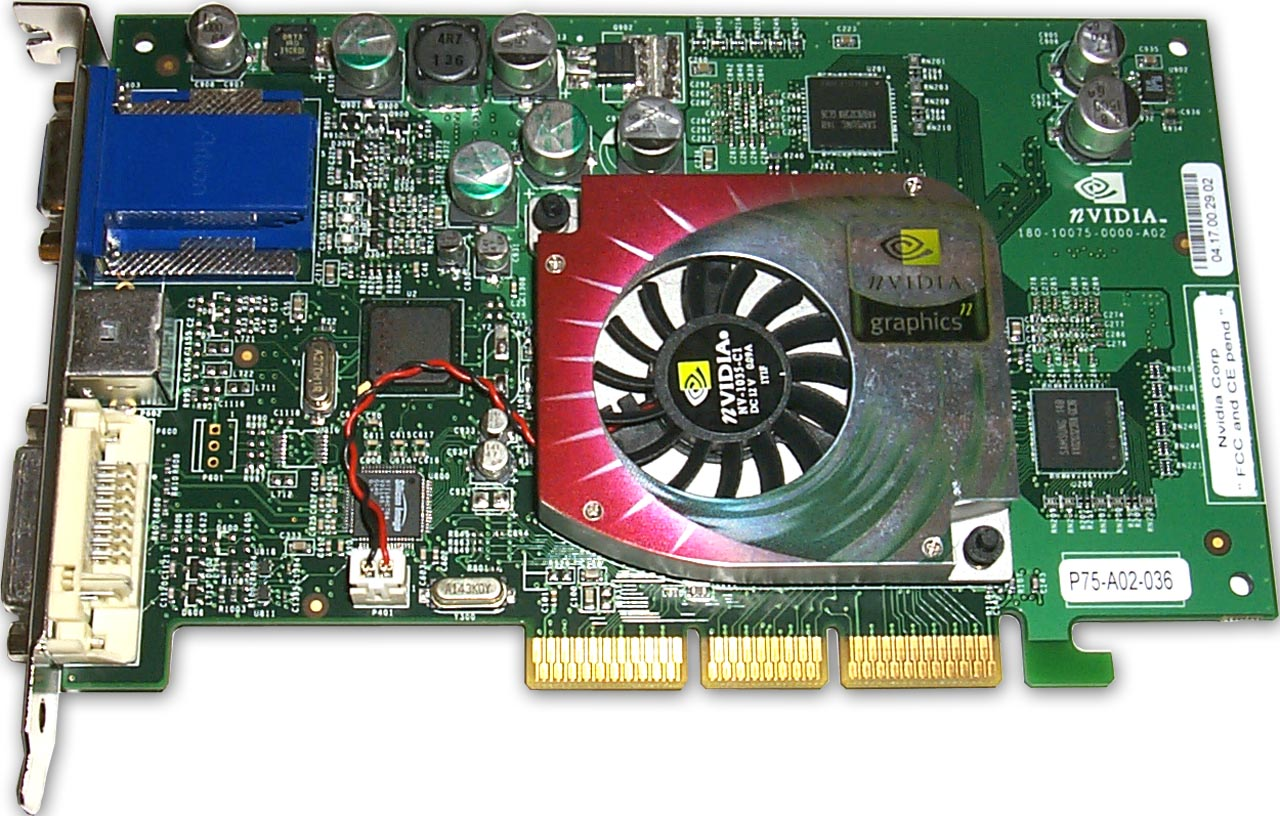 NVIDIA GeForce4 MX 420 Driver