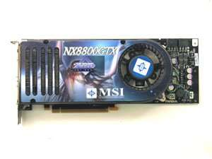 Msi geforce 8800 gtx nx8800 gtx t2d768e 768mb pci e
