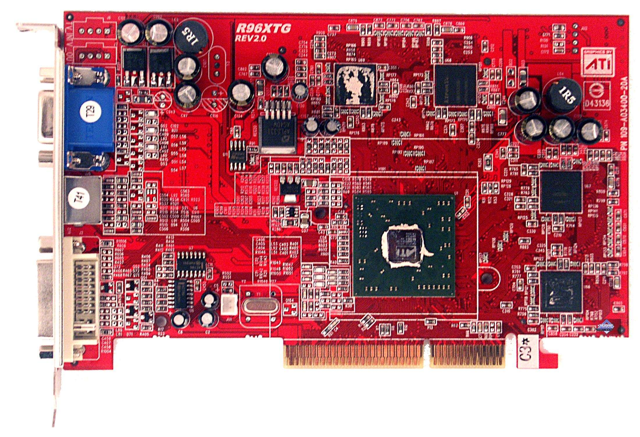 GeCube RADEON 9550 XT Extreme Reference Card ATI