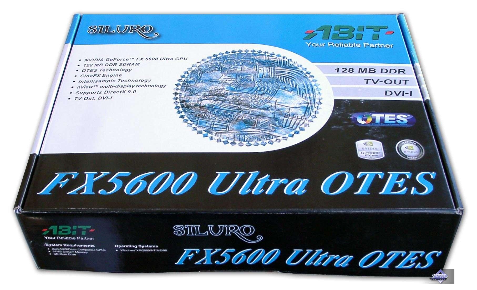 ABIT SILURO FX5600 OTES DOWNLOAD DRIVER