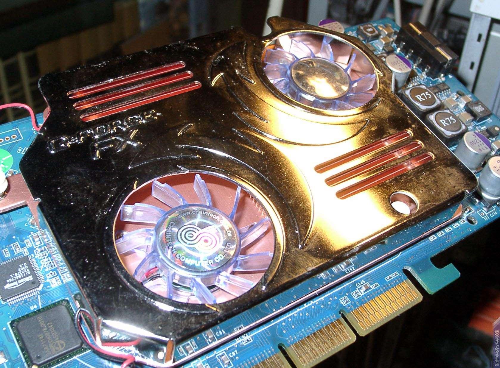 схема охлаждения видеокарты fx 5200