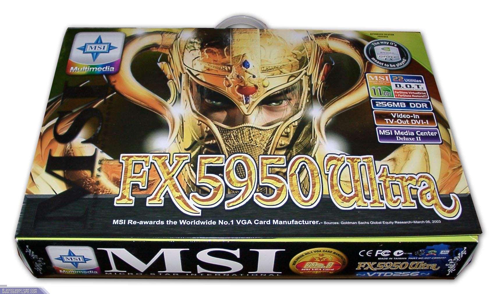 Msi fx5950 ultra vtd256 msi fx5700 ultra td128 128mb