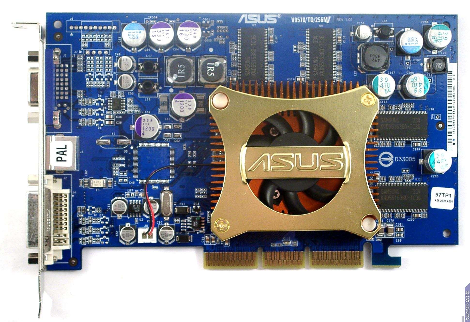 Driver for Asus V9570