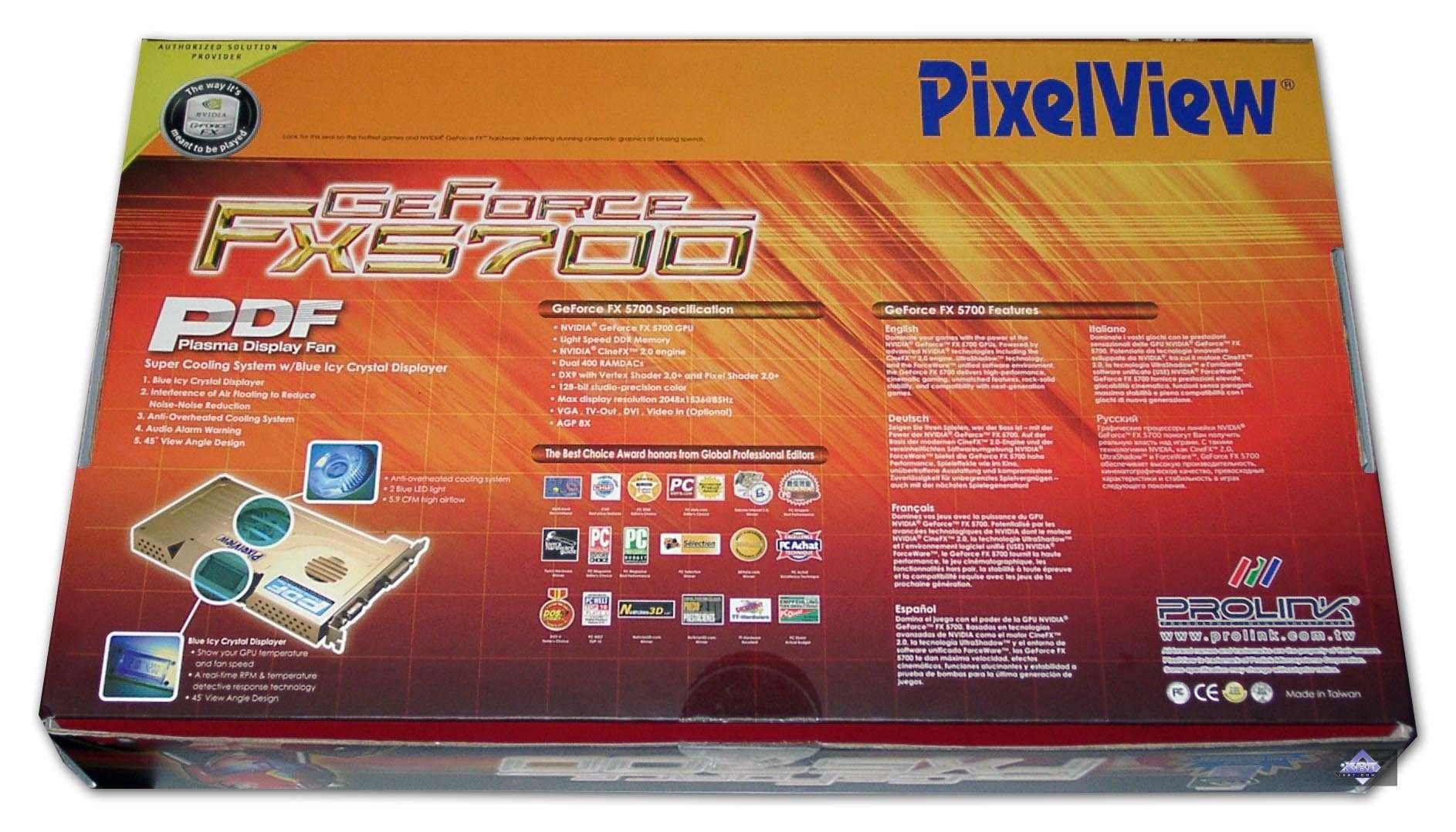 драйвера для видеоконтроллера geforce fx 5700