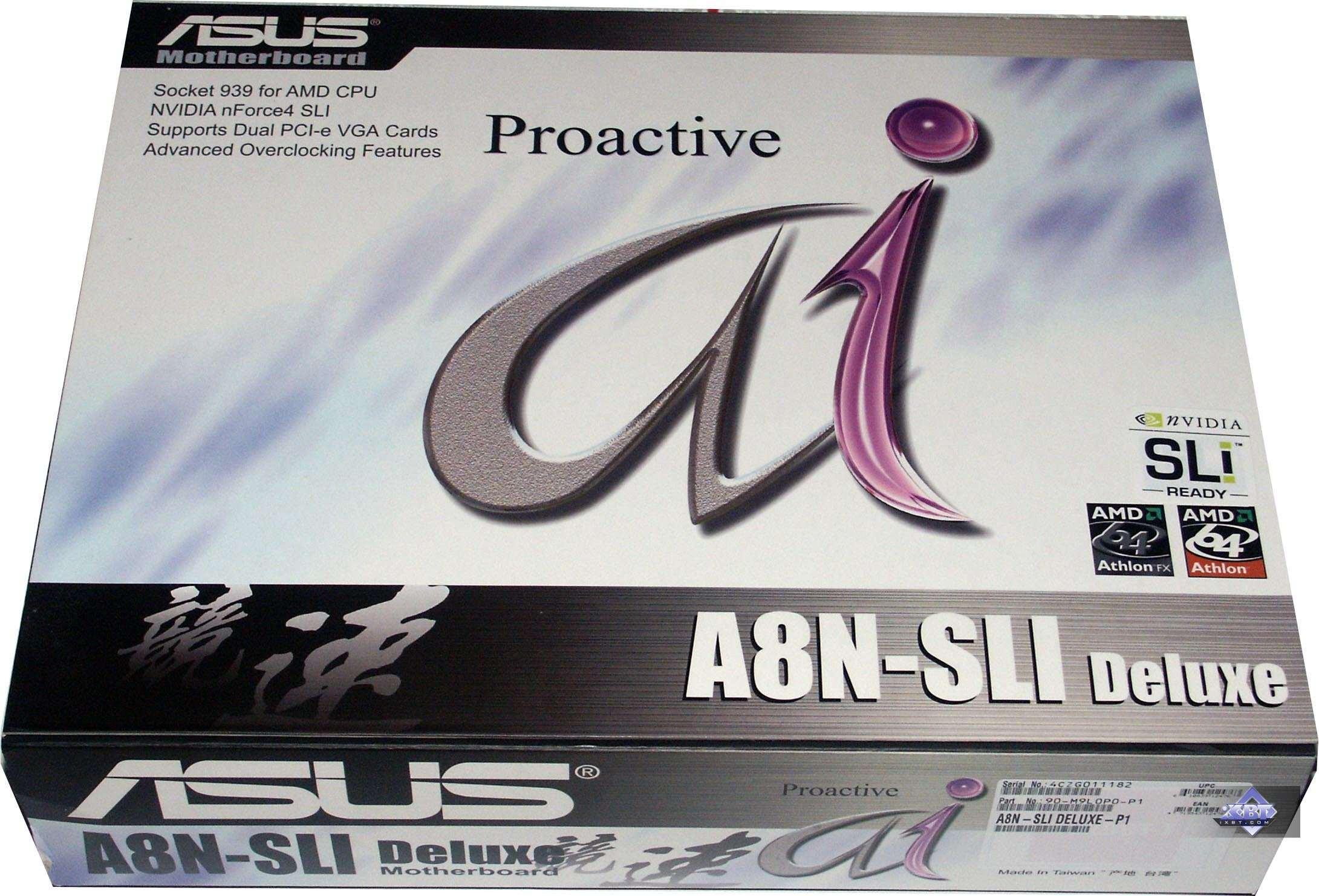 Box: standard design box of the AI Proactive series ...