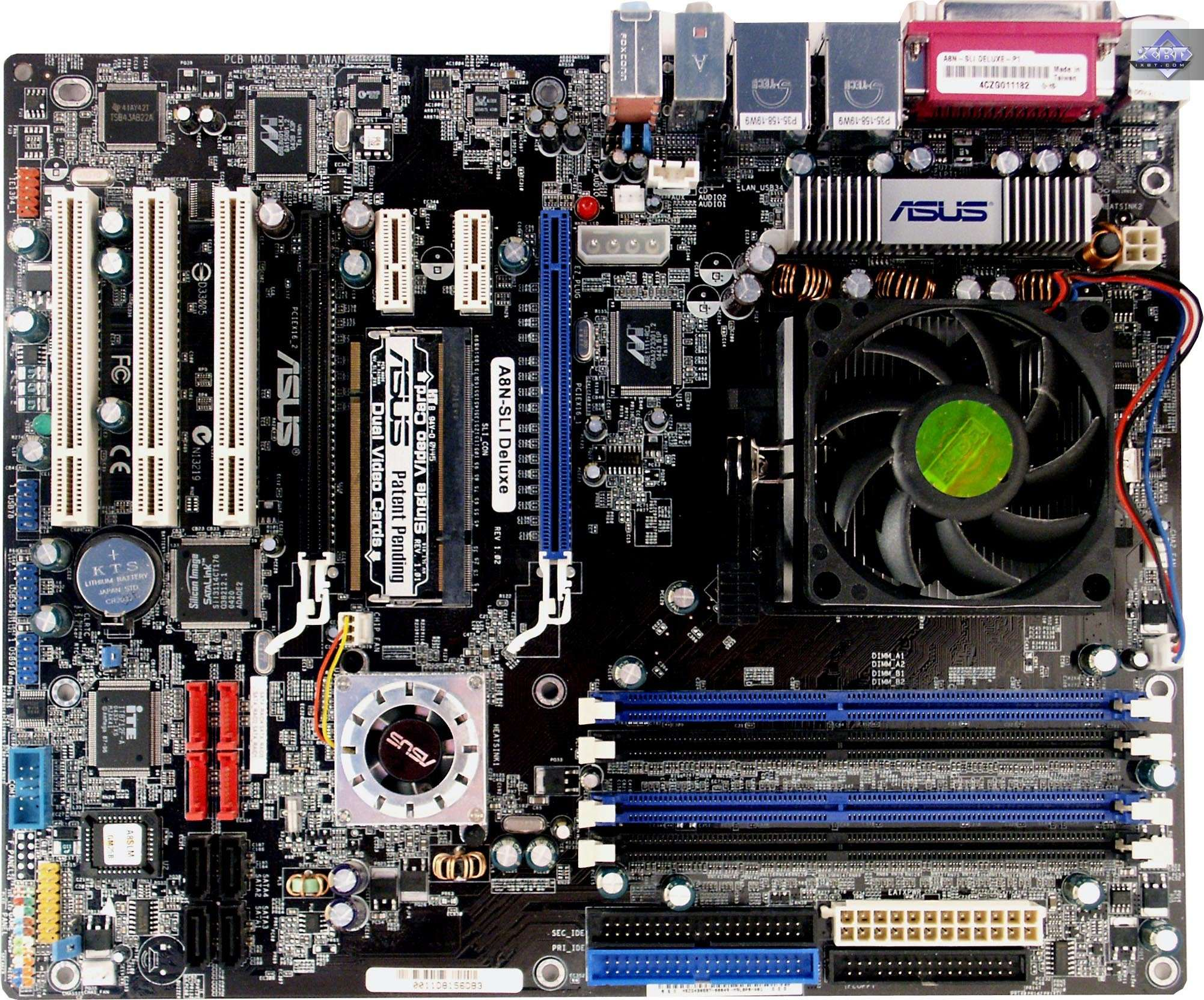 ASUS A8N-SLI DELUXE DRIVER DOWNLOAD
