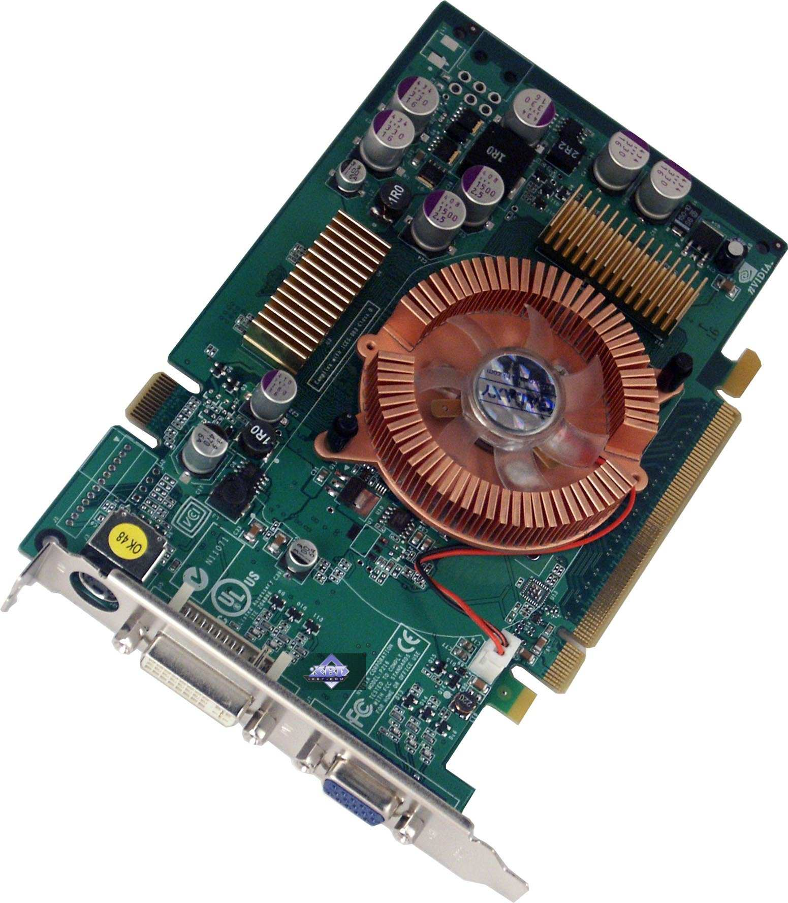 Nvidia Geforce 6200  6600  6600gt Based Video Cards  Asus