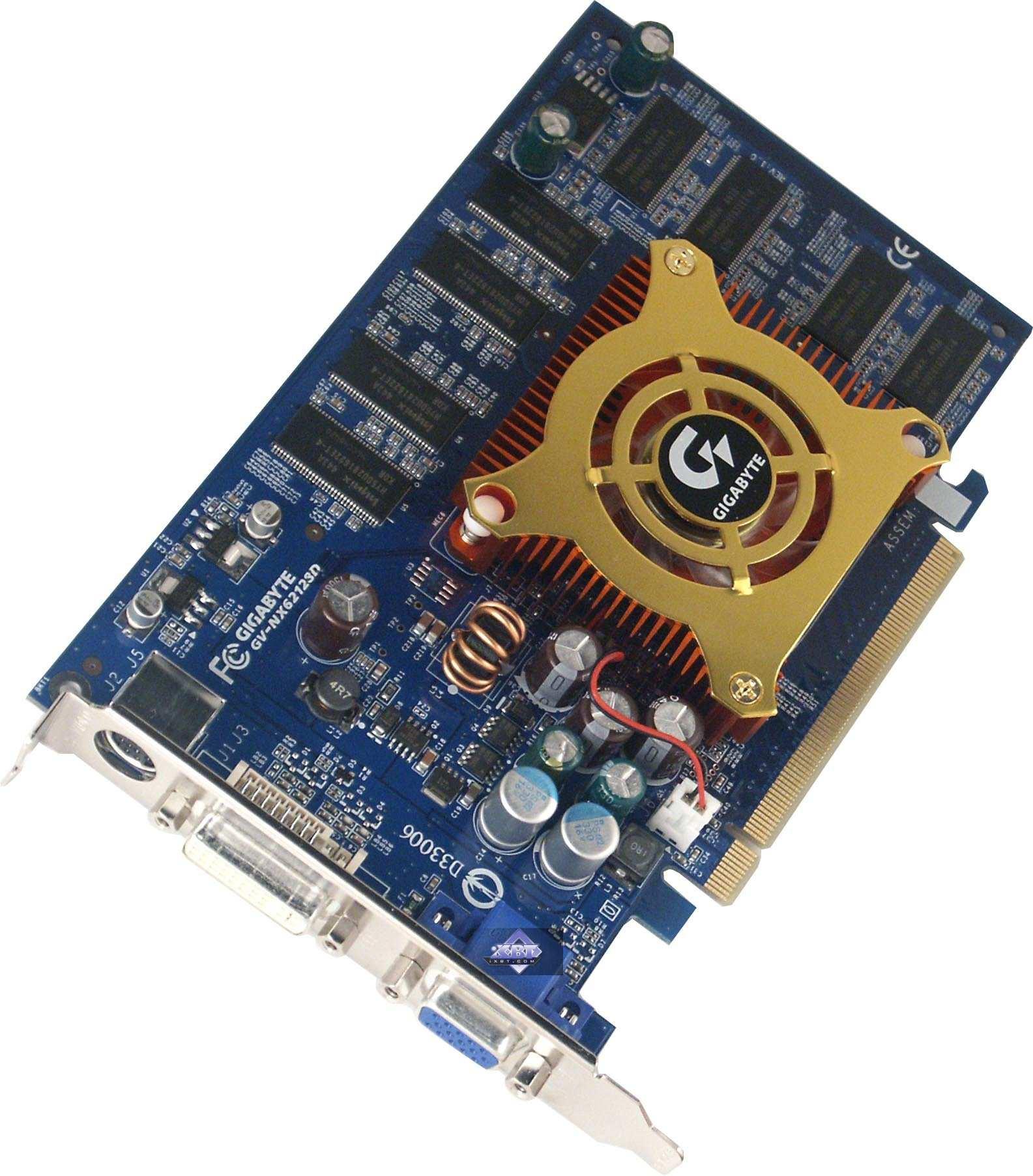 NVIDIA GeForce 6200/6600/6600GT based Video Cards: ASUS