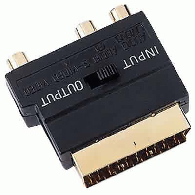 Если не получится, снимайте с одного из RCA-разъёмов композитный сигнал, это уж точно рабочий вариант.