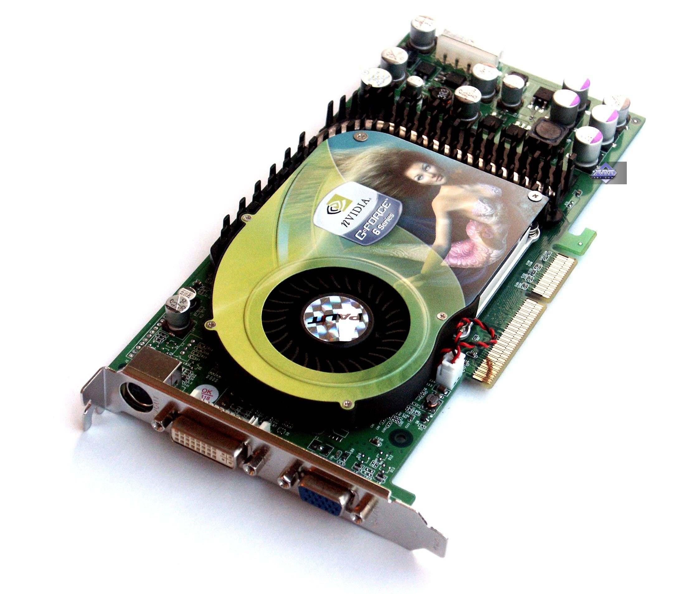 nvidia palit gt 6800 драйвер