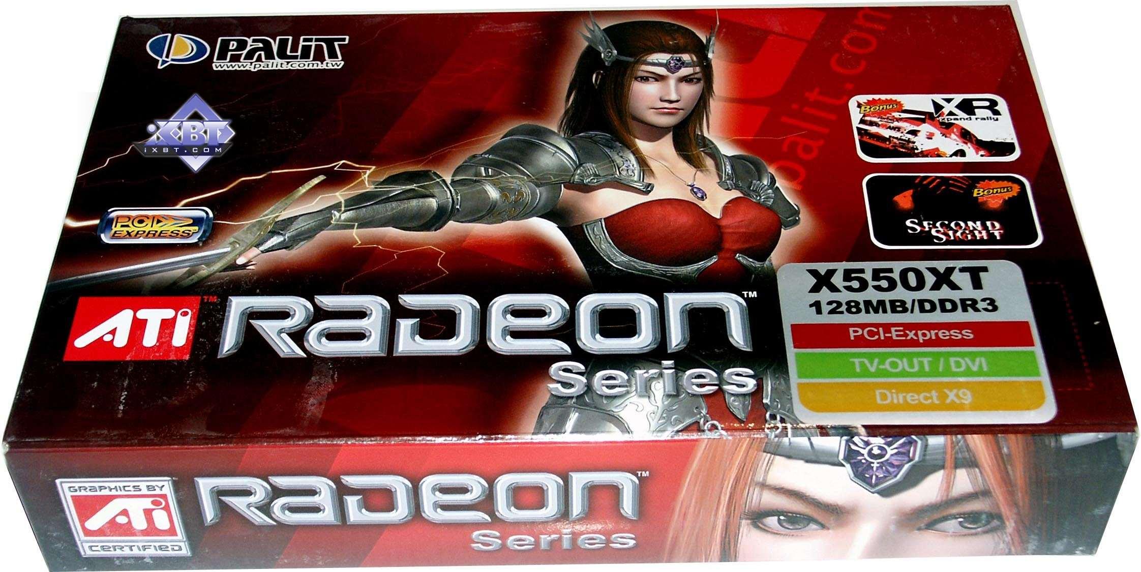 Radeon X550 Разгон